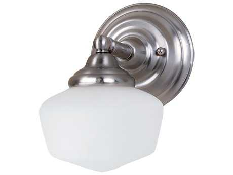 Sea Gull Lighting Academy Brushed Nickel Wall Sconce