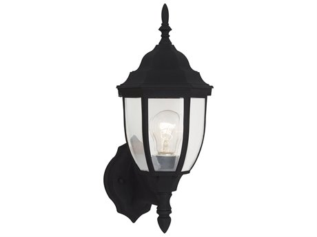 Sea Gull Lighting Bakersville Black Outdoor Wall Light SGL8894012