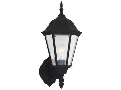 Sea Gull Lighting Bakersville Black Outdoor Wall Light SGL8894112