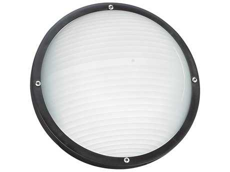 Sea Gull Lighting Bayside Black Outdoor Wall & Ceiling Light SGL8305712