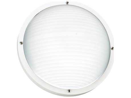 Sea Gull Lighting Bayside White Outdoor Wall & Ceiling Light SGL8305715