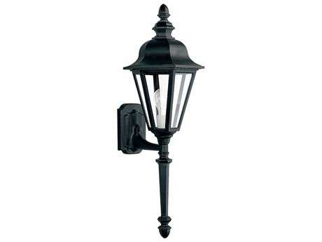 Sea Gull Lighting Brentwood Black Outdoor Wall Light SGL882312