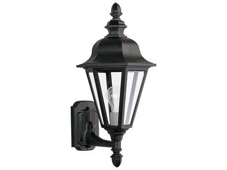 Sea Gull Lighting Brentwood Black Outdoor Wall Light SGL882412