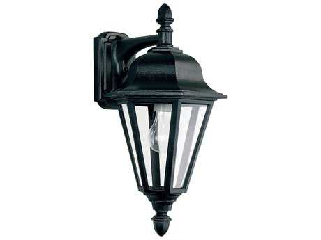 Sea Gull Lighting Brentwood Black Outdoor Wall Light SGL882512