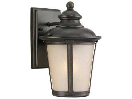 Sea Gull Lighting Cape May Burled Iron Outdoor Wall Light SGL88240780