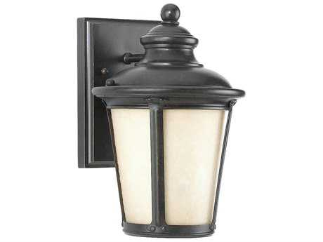 Sea Gull Lighting Cape May Burled Iron Dark Sky Outdoor Wall Light SGL88240D780