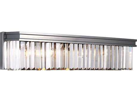 Sea Gull Lighting Carondelet Antique Brushed Nickel Four-Light Vanity Light SGL4414004965