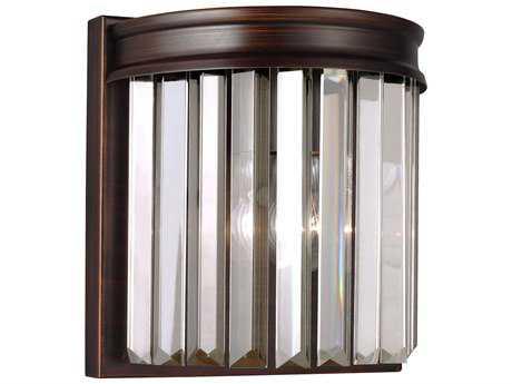 Sea Gull Lighting Carondelet Burnt Sienna Wall Sconce SGL4414001710