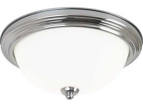 Sea Gull Lighting Ceiling Chrome 11.5'' Wide Flush Mount Light SGL7706305