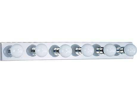 Sea Gull Lighting Center Stage Chrome Six-Light Vanity Light SGL473905