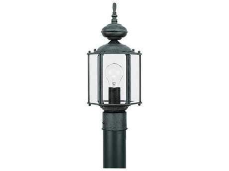 Sea Gull Lighting Classico Black LED Outdoor Post SGL820912