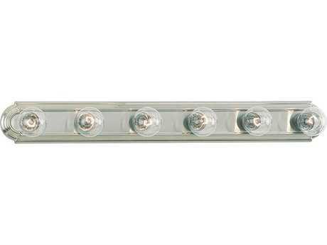 Sea Gull Lighting De-Lovely Brushed Nickel Six-Light Vanity Light SGL4702962