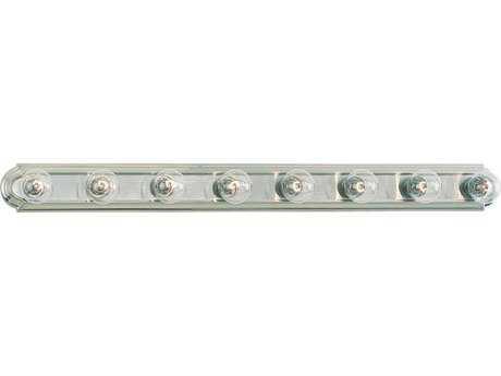 Sea Gull Lighting De-Lovely Brushed Nickel Eight-Light Vanity Light SGL4703962