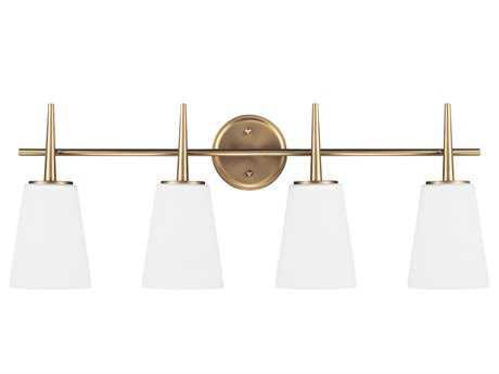 Sea Gull Lighting Driscoll Satin Bronze Four-Light Vanity Light SGL4440404848