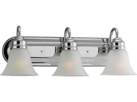 Sea Gull Lighting Gladstone Chrome Three-Light Vanity Light SGL4485205