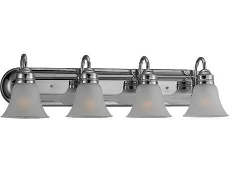 Sea Gull Lighting Gladstone Chrome Four-Light Vanity Light SGL4485305