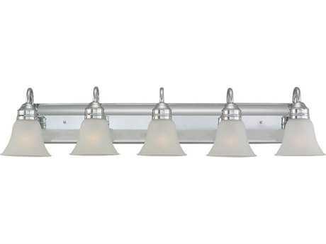 Sea Gull Lighting Gladstone Chrome Five-Light Vanity Light SGL4485405