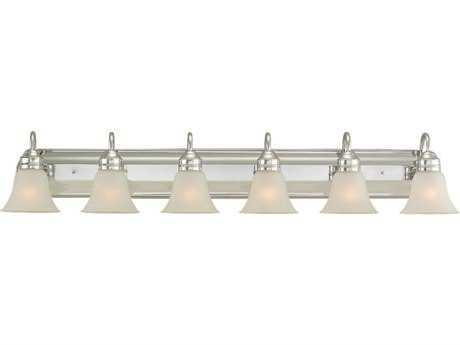 Sea Gull Lighting Gladstone Chrome Six-Light Vanity Light SGL4485505
