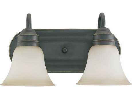 Sea Gull Lighting Gladstone Heirloom Bronze Two-Light Wall Sconce SGL44851782