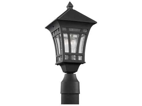Sea Gull Lighting Herrington Black Outdoor Post