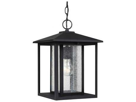 Sea Gull Lighting Hunnington Black Outdoor Hanging Light SGL6202712