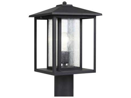 Sea Gull Lighting Hunnington Black Outdoor Post SGL8202712