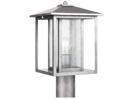 Sea Gull Lighting Hunnington Weathered Pewter Outdoor Post SGL8202757