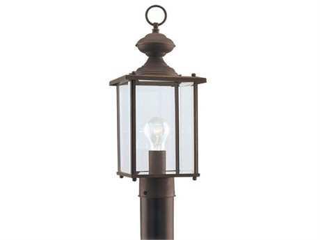 Sea Gull Lighting Jamestowne Antique Bronze Outdoor Post SGL825771
