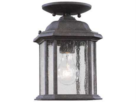 Sea Gull Lighting Kent Oxford Bronze Outdoor Hanging Light