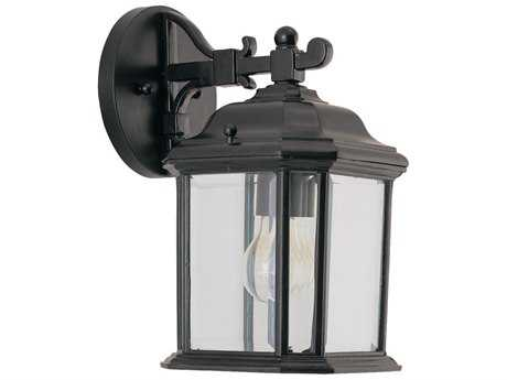 Sea Gull Lighting Kent Black Outdoor Wall Light SGL8402912