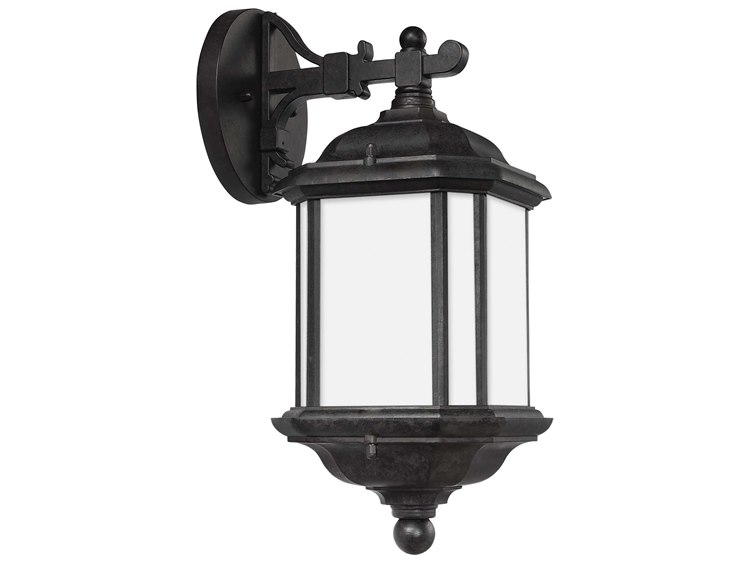 Sea gull lighting kent oxford bronze 15 wide outdoor wall sconce