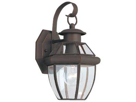 Sea Gull Lighting Lancaster Antique Bronze Outdoor Wall Light