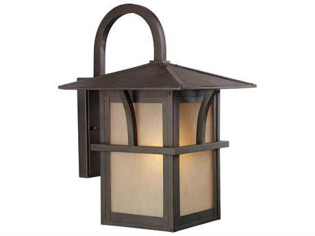 Sea Gull Lighting Medford Lakes Statuary Bronze 11'' Wide Outdoor Wall Light SGL8888251