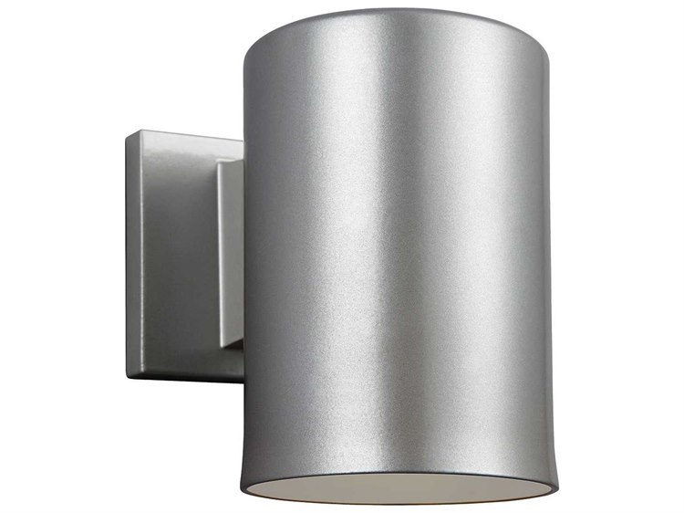 Shop Sea Gull Lighting 3 Light Melody Brushed Nickel: Sea Gull Lighting Bullets Painted Brushed Nickel Outdoor