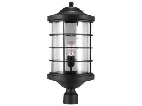 Sea Gull Lighting Sauganash Black Outdoor Post SGL822440112