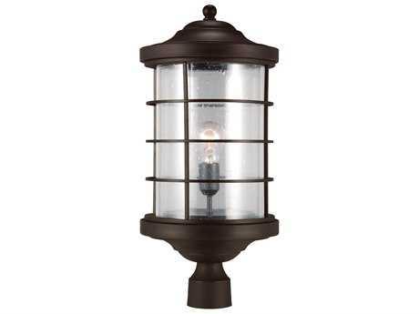 Sea Gull Lighting Sauganash Antique Bronze Outdoor Post SGL822440171