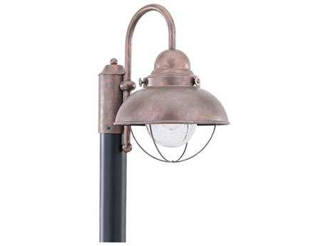 Sea Gull Lighting Sebring Weathered Copper Outdoor Post SGL826944