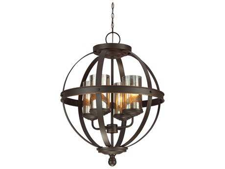Sea Gull Lighting Sfera Autumn Bronze Four-Light 18.5'' Wide Chandelier SGL3110404715