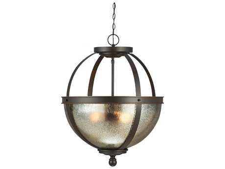 Sea Gull Lighting Sfera Autumn Bronze Three-Light 18.5'' Wide Pendant SGL6610403715