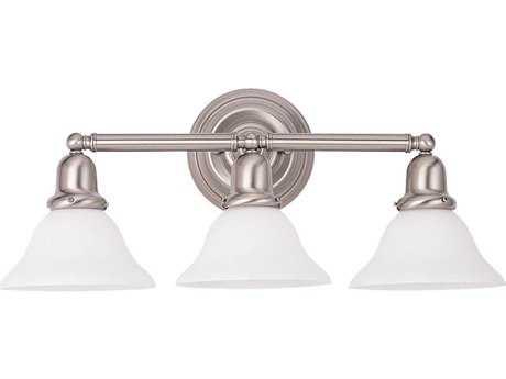 Sea Gull Lighting Sussex Brushed Nickel Three-Light Vanity Light SGL44062962