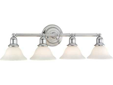 Sea Gull Lighting Sussex Chrome Four-Light Vanity Light SGL4406305