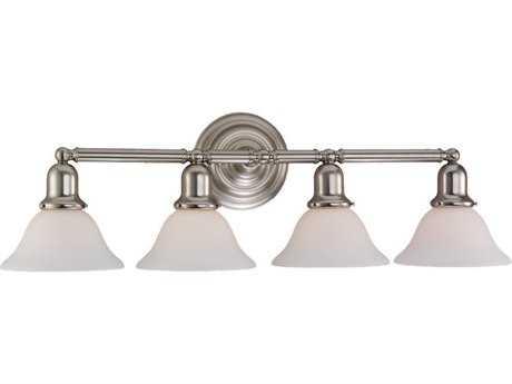 Sea Gull Lighting Sussex Brushed Nickel Four-Light Vanity Light SGL44063962