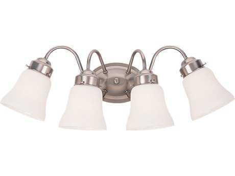 Sea Gull Lighting Westmont Brushed Nickel Four-Light Vanity Light SGL44021962