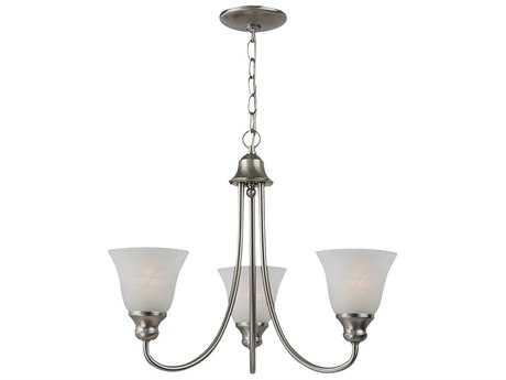 Sea Gull Lighting Windgate Brushed Nickel Three-Light 20.25'' Wide Mini-Chandelier SGL35939962