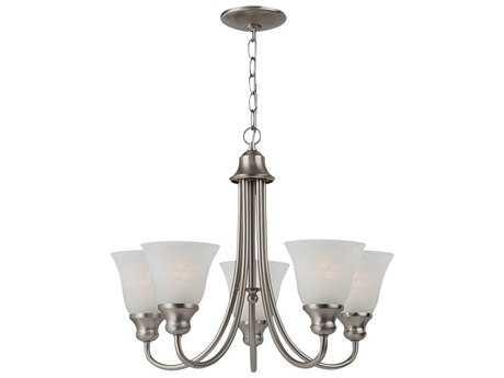 Sea Gull Lighting Windgate Brushed Nickel Five-Light 20.25'' Wide Mini-Chandelier SGL35940962