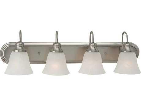 Sea Gull Lighting Windgate Brushed Nickel Four-Light Vanity Light SGL44942962