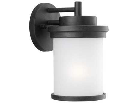 Sea Gull Lighting Winnetka Forged Iron Outdoor Wall Light SGL88660185