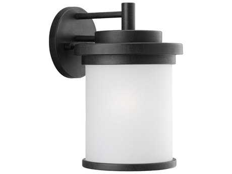 Sea Gull Lighting Winnetka Forged Iron Outdoor Wall Light SGL88661185