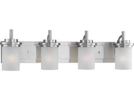 Sea Gull Lighting Winnetka Brushed Nickel Four-Light Vanity Light SGL44663962