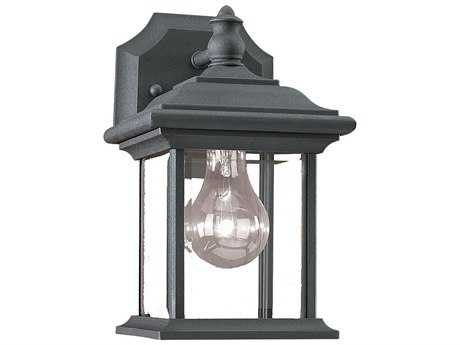 Sea Gull Lighting Wynfield Black Outdoor Wall Light SGL8520012
